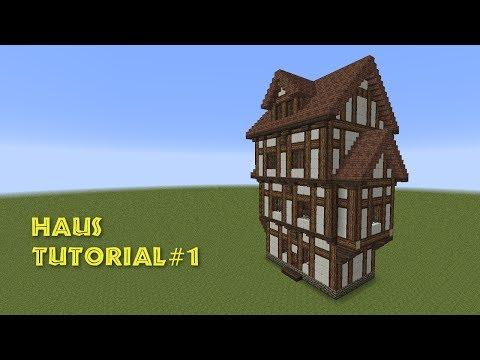 Minecraft Tutorial Fachwerkhaus Wohnhaus Build A Half - Minecraft altmodische hauser bauen