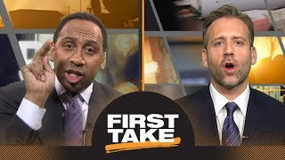Stephen A. and Max fiercely debate Dwyane Wade's NBA legacy | First Take | ESPN