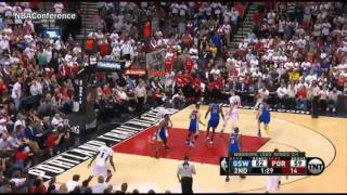 Golden State Warriors vs Trail Blazers   Game 4   Full Highlights   May 9, 2016   2016 NBA Playoffs