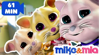 Three Little Kittens | Nursery Rhymes and Kids Songs | Kittens Cat Songs by Mike and Mia