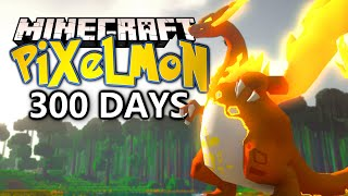 300 Days In Minecraft Pokémon! Here is what happened.