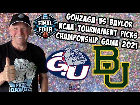 Gonzaga vs Baylor 4/5/21 Free College Basketball Pick & Prediction NCAA Tournament Championship Game