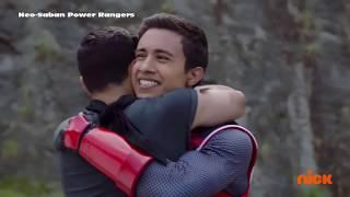 "Power Rangers Ninja Steel - 3 Red Rangers | Episode 20 ""Galvanax Rises"" | Superheroes"