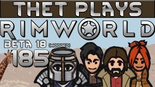 Thet Plays Rimworld Part 185: Mad Alpacas [Beta 18] [Modded]