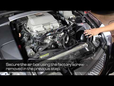 How To Install aFe Power 09-15 Cadillac CTS-V V8-6.2L (sc) Momentum GT Intake System 52-74207