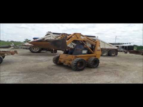 1999 Case 1845C skid steer for sale | no-reserve Internet auction September 13, 2016