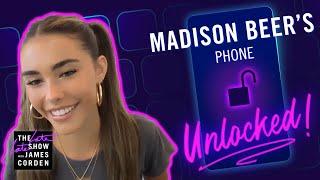 Madison Beer's Phone Unlocked