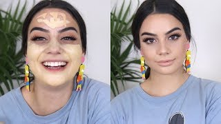 EVERYDAY MAKEUP LOOK FOR PALE SKIN