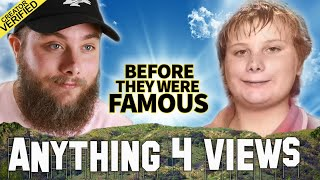 Anything4Views | Before They Were Famous | YouTuber Biography | Cold Ones