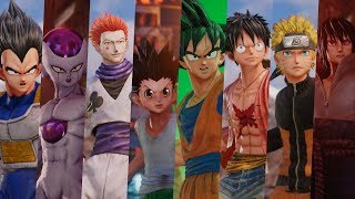 All Unique Abilities in Jump Force