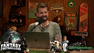"""Fantasy Football Week 7 - Mike """"The Fantasy Hitman"""" Wright is LIVE answering questions!"""