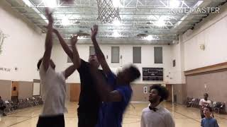 Nerd Plays Basketball At Church !!!