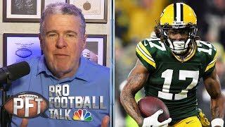 Inside Aaron Rodgers' audible that stunned Matt LaFleur | Pro Football Talk | NBC Sports