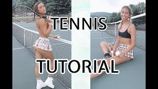 HOW TO BE A PROFESSIONAL TENNIS PLAYER!!