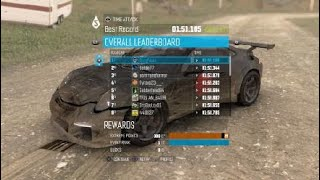 The Crew™Dirty Deeds SQ Time Attack Solo WR 1:51.105