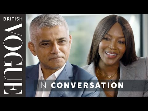 Naomi Campbell Meets… Sadiq Khan | The December 2017 Issue | British Vogue