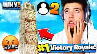 The worlds most annoying Fortnite player AGAIN...