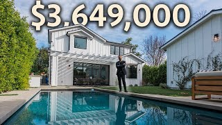 Inside the BEST HOME IN LOS ANGELES Under $4 Million Dollars!