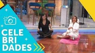 Maribel Guardia nos muestra su rutina de ejercicios | Un Nuevo Día | Telemundo