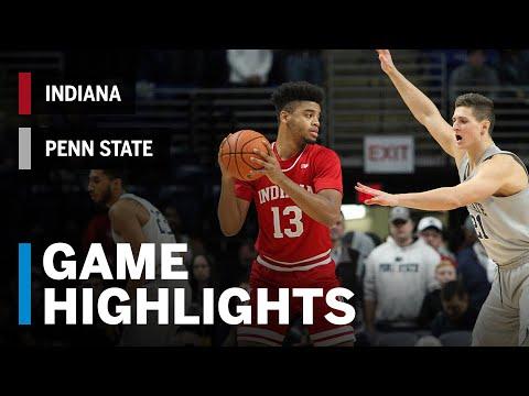 Highlights: Indiana at Penn State   Big Ten Basketball