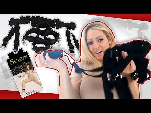 Under the Bed Restraint System | BDSM Bondage Sex Toy | Bondage Sex Toy Review