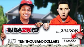 AGENT 00 PAID ME $10,000 TO PLAY NBA 2K19 FOR 24 HOURS STRAIGHT...