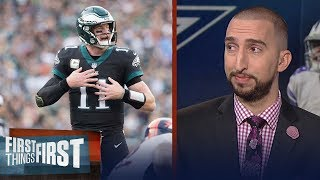 Nick and Cris break down the Week 11 matchup between the Cowboys and Eagles | FIRST THINGS FIRST