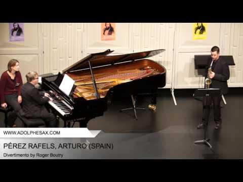 Dinant2014 PÉREZ RAFELS Arturo Divertimento by Roger Boutry