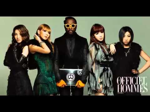 Will.i.am ft 2NE1 - Take the world on [FULL].