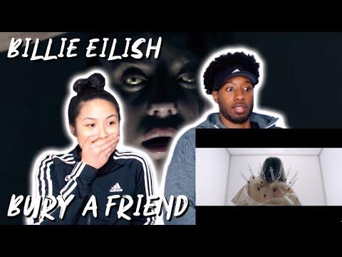 CREEEEPY!! | BILLIE EILISH - BURY A FRIEND | MUSIC VIDEO REACTION