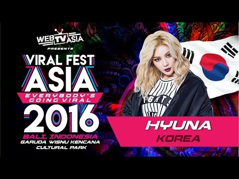 HyunA - Live Performance at VIRAL FEST ASIA 2016 BALI Indonesia
