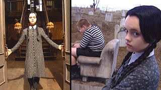 Addams Family Values: Christina Ricci Gives Behind-the-Scenes Tour!