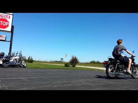 Royal Enfield Bullet B5 Wheelie