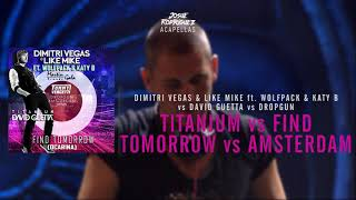 Titanium vs Find Tomorrow vs SNA vs Amsterdam (Dimitri Vegas & Like Mike 2014 Mashup)