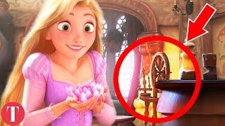 10 AMAZING Hidden Details In Disney Movies