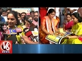 MP Kavitha Offer Prayers To Goddess Kanaka Durga At Indrak..