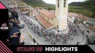 Giro d'Italia 2021   Stage 9   Highlights