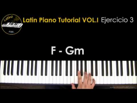 DRJASSMUSIC Latin Piano Tutorial Vol.1 - Ejercicio 3 (Español)