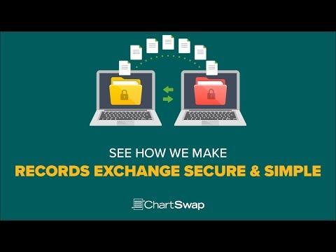 ChartSwap is a HIPAA-Compliant, cloud-based, medical record exchange platform that allows for the transfer of medical records between registered users.