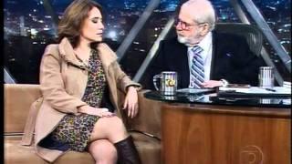 Em entrevista com Jô Soares.
