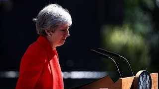 In full: Theresa May's tearful resignation speech