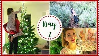 FINDING THE PERFECT CHRISTMAS TREE   VLOGMAS