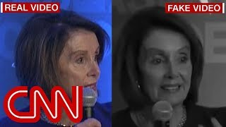 Trump allies share fake video of Nancy Pelosi stammering her words
