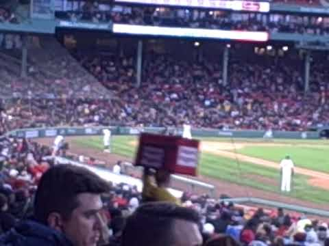 Boston Red Sox 1st inning vs. Colorado Rockies 2019