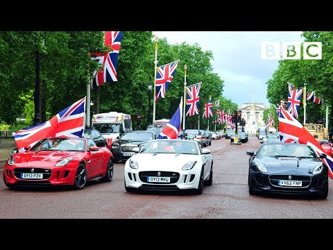 British Made Motors Take Over The Mall - Top Gear: Series 20 Episode 6 - BBC Two - Smashpipe Entertainment