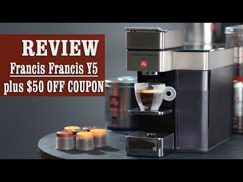 Review + $50 OFF coupon: Francis Francis for illy Y5 iperEspresso Machine