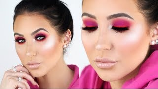 Trendy Hot Pink Smokey Eye Tutorial | Jaclyn Hill