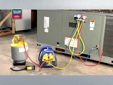 Yellow Jacket Refrigerant Recovery 2 Aircovent