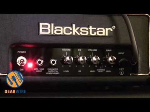 blackstar ht 1rh all tube guitar amp demo one watt no waiting video youtube. Black Bedroom Furniture Sets. Home Design Ideas