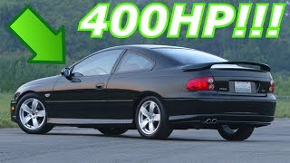 400HP Cars Under 10K!